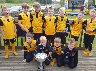 Crook Town AFC Youth u9 Tigers