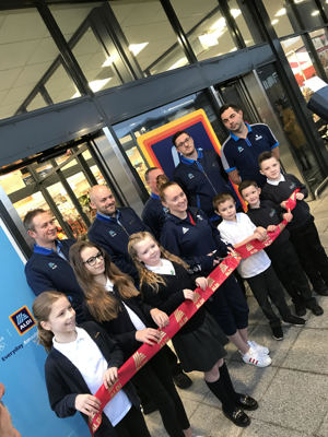 Aldi Opening with Amy Tinkler