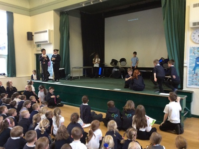 Year 3 and 4 Anti Bullying Assembly!