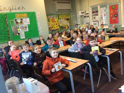 Year 3 Trip to Crook Library