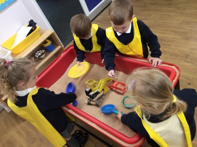 Our first full week in Nursery