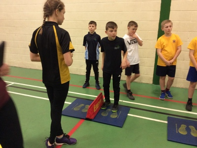 Sports Hall Athletics!